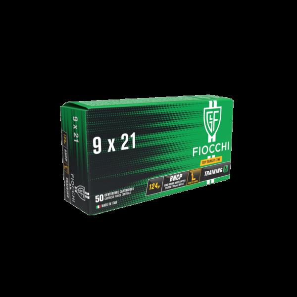 FIOCCHI 9X21 RNCP 124gr
