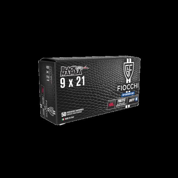 FIOCCHI 9X21 FMJTC BM 100gr